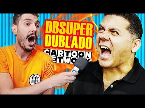 WENDEL BEZERRA revela detalhes de DB SUPER DUBLADO no Cartoon Network