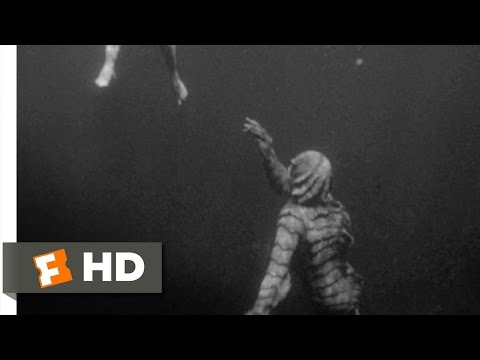 Creature from the Black Lagoon 410 Movie   Underwater Stalking 1954 HD