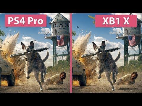 [4K] Far Cry 5 – PS4 Pro vs. Xbox One X Graphics Comparison