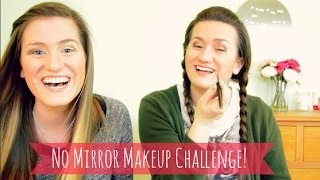No Mirror Makeup Challenge! Thumbnail