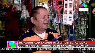 Multinoticias | Mercados capitalinos presentan estabilidad de precios de la canasta básica
