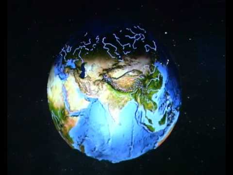 3D World Map Screen Saver   YouTube