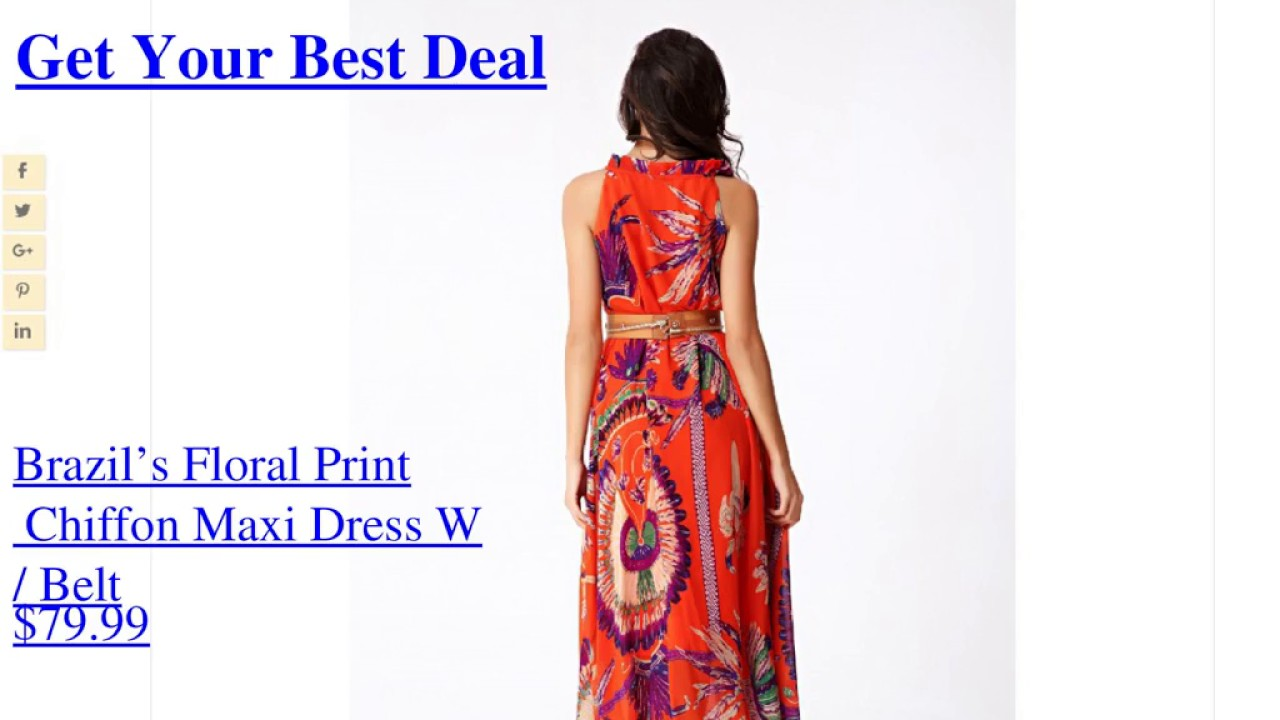 Maxi Dresses ! Buy Maxi Dresses for Women Online ! dressofseason ...