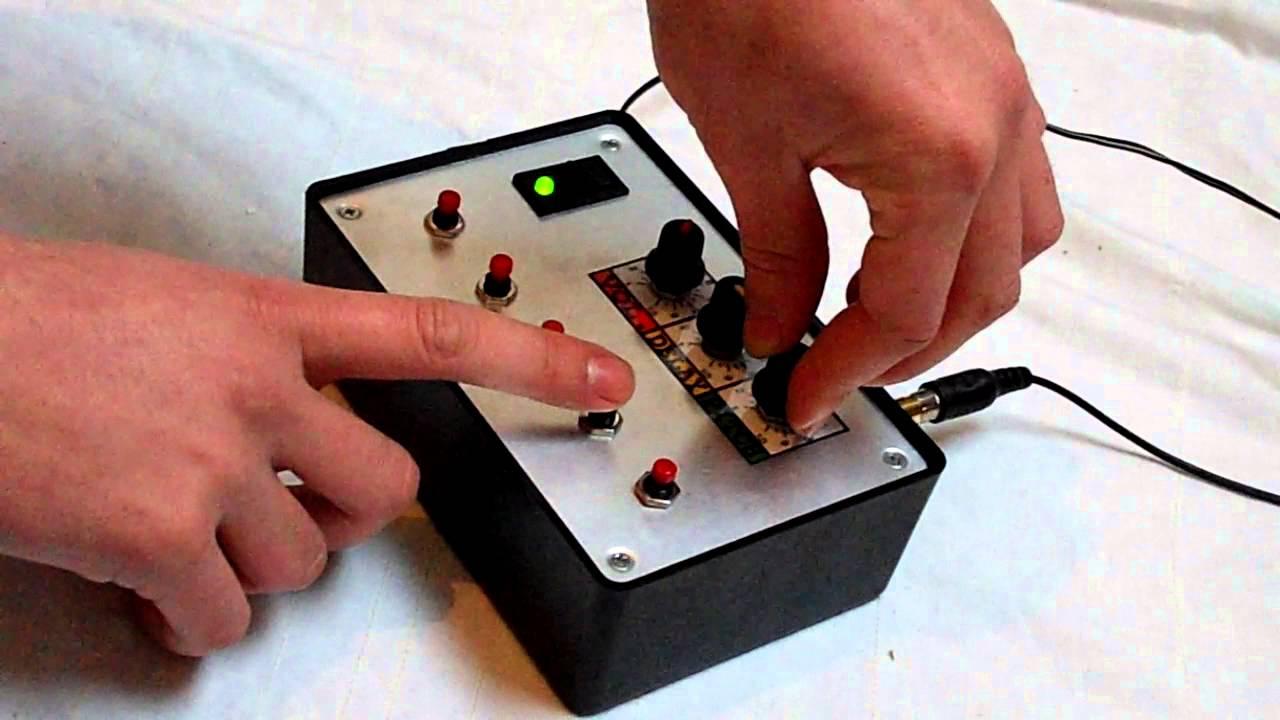 Rc Circuit Bent Dub Siren Sound Fx Unit Inbuilt Delay Echo Youtube Police Car