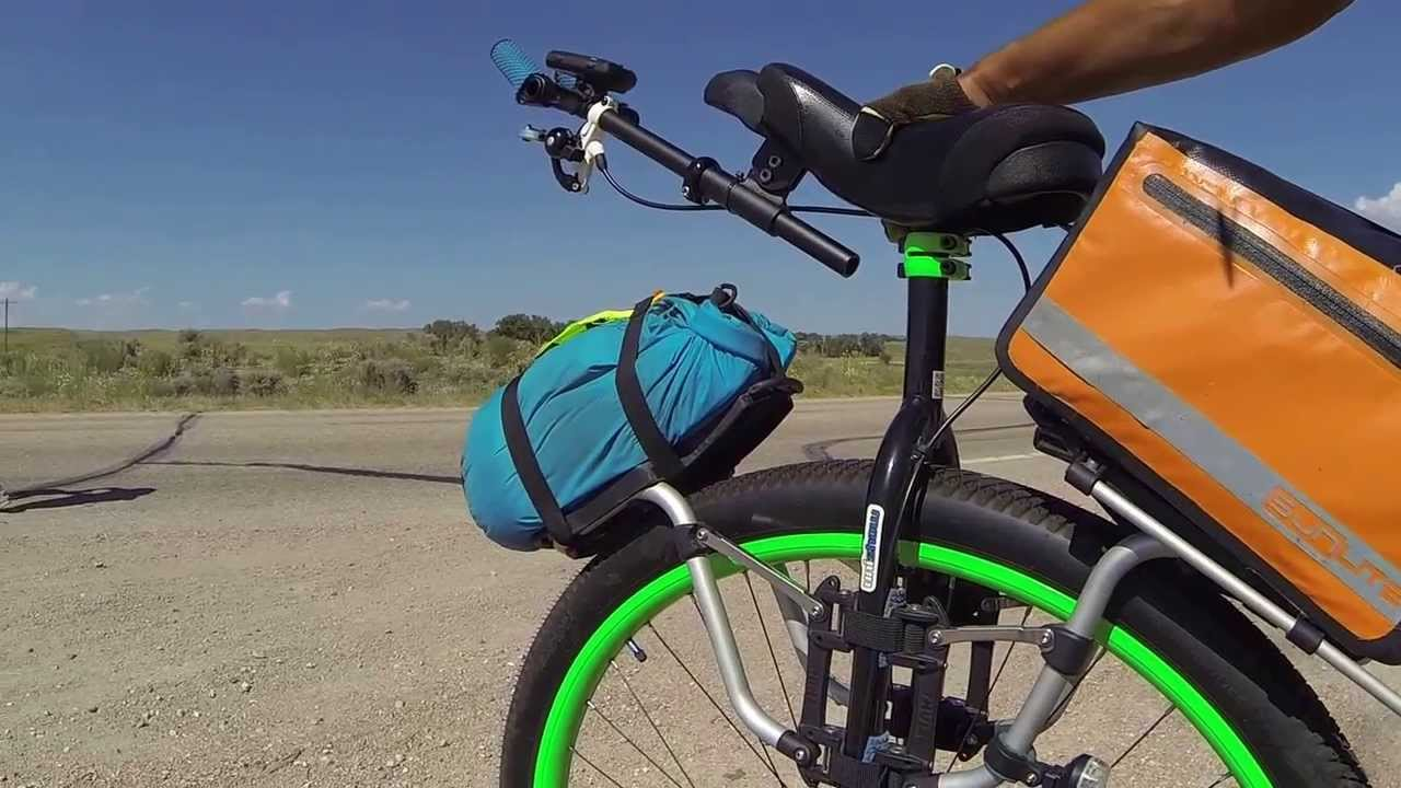 Refugeride Tech Time Thule Pack N Pedal Tour Rack Youtube