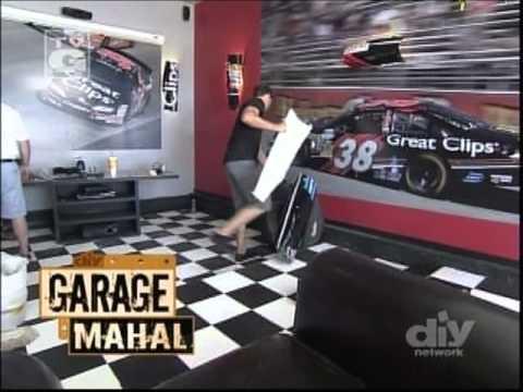 "SodaParts on DIY's ""Garage Mahal"""