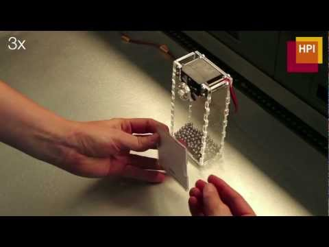 LaserOrigami: laser-cutting 3d objects