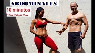ABDOMINALES en 10 MINUTOS - ABDOMINALES INTENSOS - RUTINA 500 - Tonificar abdomen - Dey Palencia
