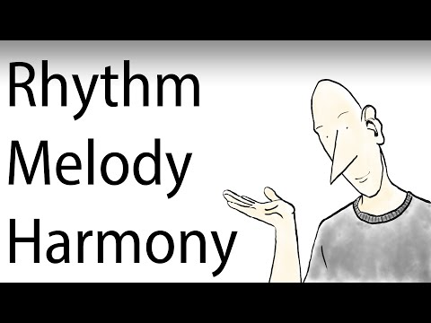 Music Composition Tutorial - 02 Rhythm Melody Harmony
