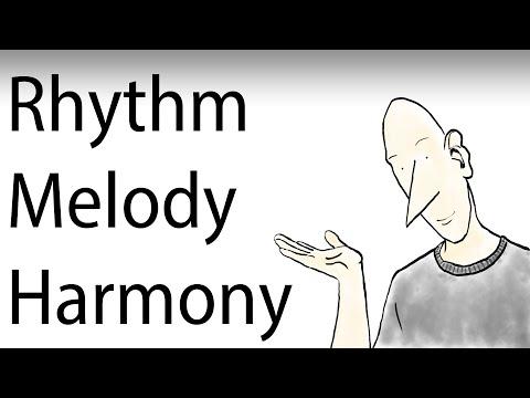 Music Composition Tutorial - 02 Rhythm Melody Harmony