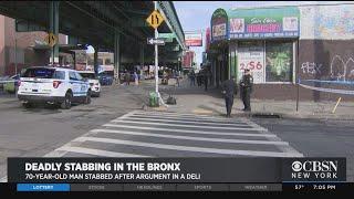 Deadly Stabbing In Bronx Bodega
