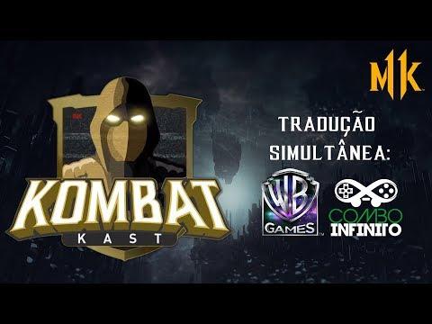 LIVE - Mortal Kombat 11 - Kombat Kast (Tradução Simultânea com Rapha Negrão e Combo Infinito)