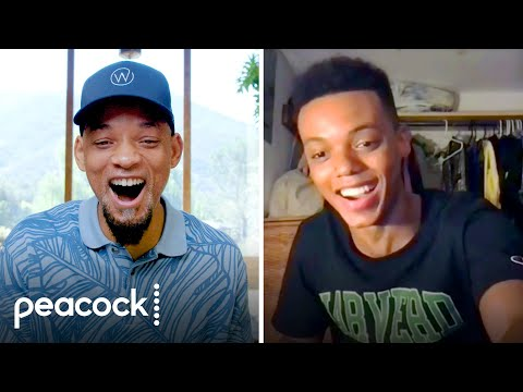 Will Smith Reveals Casting of Will for Bel-Air | Peacock Originals