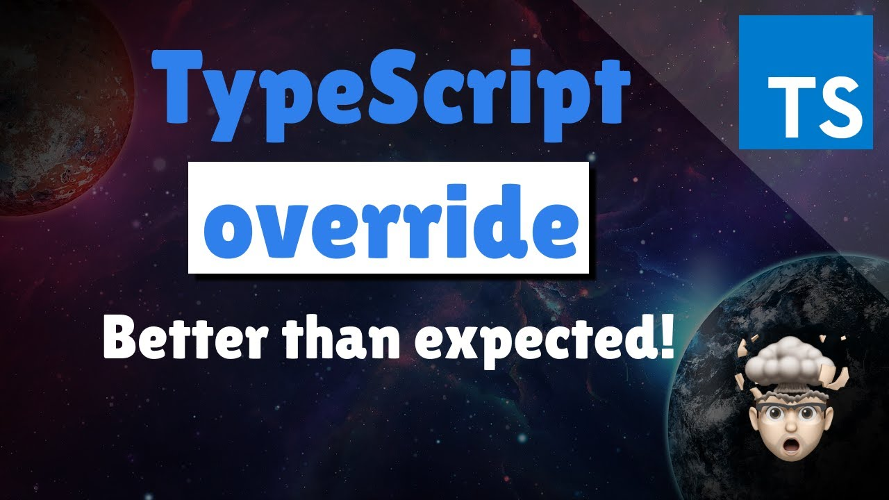 Override and NoImplicitOverride for TypeScript Class Inheritance