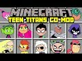 Minecraft TEEN TITANS MOD! | JOIN THE TEEN TITANS AND FIGHT VILLIANS! | Modded Mini-Game