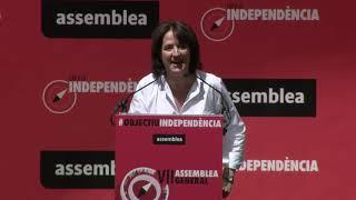 Discurs d'Elisenda Paluzie (Assemblea General 2019)