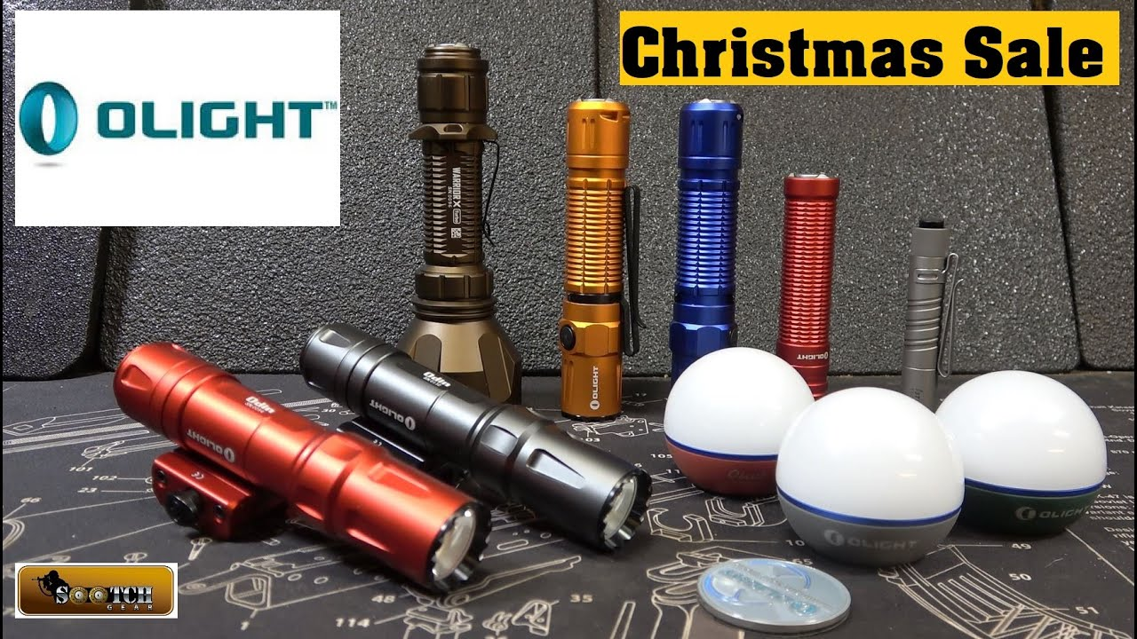 Olight 40% off Christmas Sale Dec 13 17