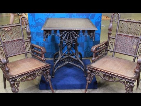 Web Appraisal: Wakefield Rattan Company Furniture, ca. 1875