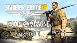 Sniper Elite 3 Koop Kampagne - Kapitel 1 [PS4][German/Deutsch]