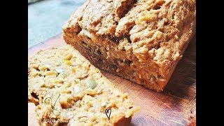 HEALTHY VEGAN BANANA PUMPKIN BREAD - ERIKA'S RECIPE  | Connie's RAWsome kitchen