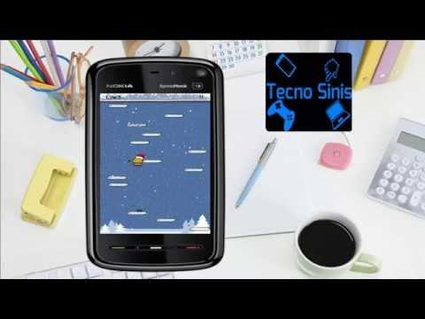 Los Mejores Juegos Para Nokia 5800,5230,5530,5233 :Doodle Jump Deluxe