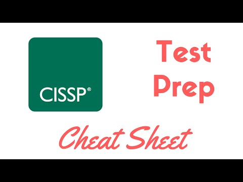 CISSP Complete Test Prep & Cheat Sheet