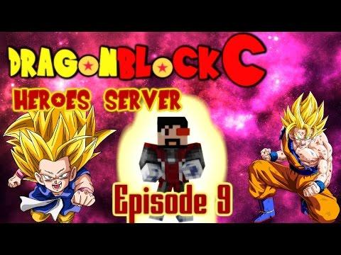 Minecraft Dragon Block C Heroes Server - Episode 9   Super Saiyan Training!!