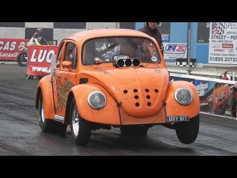 'NOISY BUG'R' - V8 Volkswagen Beetle runs 10s!