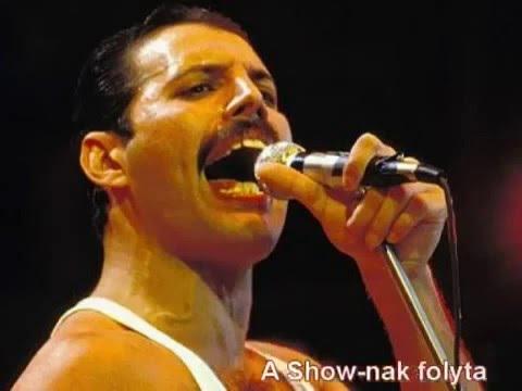 Queen  - Show must go on  + magyar felirat