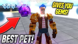 I GOT THE BEST PET IN WEIGHT LIFTING SIMULATOR 3 UPDATE!! *OP* (Roblox)