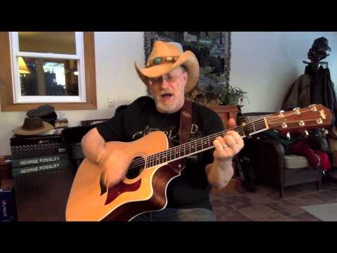 1388 -  All My Ex's Live In Texas -  George Strait cover with guitar chords and lyrics