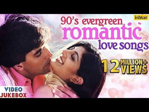 90's Evergreen Romantic Love Songs   Top 21 Bollywood Hindi Songs   VIDEO JUKEBOX