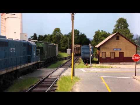 Boston & Maine WJ-1 Switches Agway - Part 3
