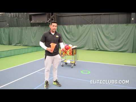 Bounce & Catch Quickstart Tennis Drill | Kids Ages 3 To 7 Years