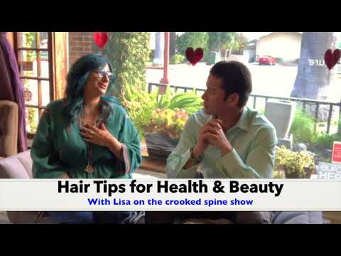 Hair Tips for Health and Beauty with LIsa, Platform Color and Style Salon with Upland Chiropractor