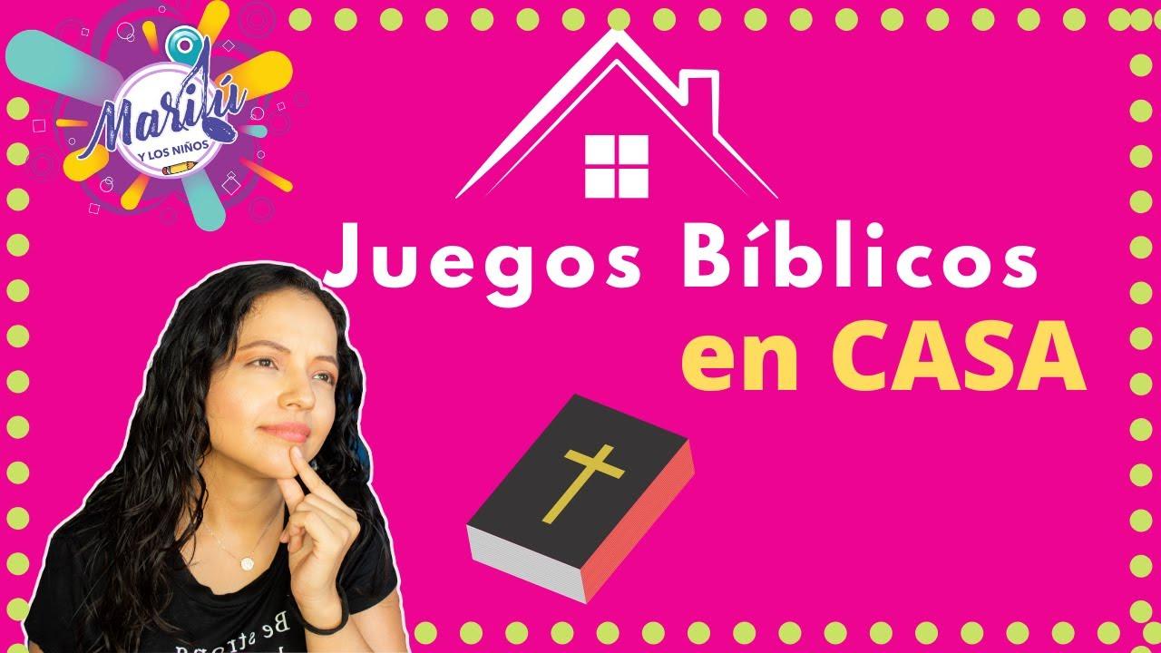 Juegos Biblicos Para Ninos En Casa Marilu Y Los Ninos Youtube
