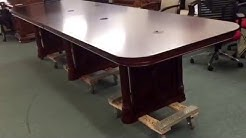 DMI Rue De Lyon 12' Traditional Expandable Conference Table