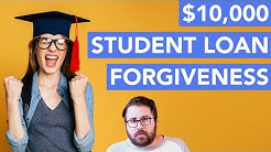 How the Proposed $10,000 Student Loan Forgiveness Would Work (HEROES Act)