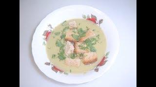 Картофельный суп с броколи