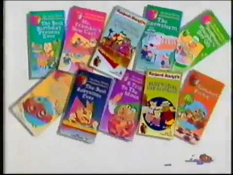 opening to the busy world of richard scarrys the best christmas present ever 1995 vhs - Best Christmas Present Ever