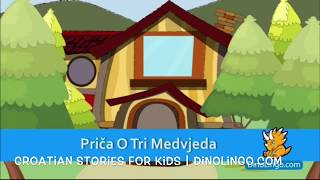 The Three Bears - Croatian stories and books for kids