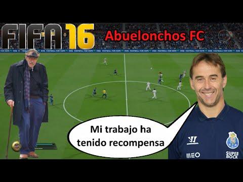 ABUELONCHOS FC - Julen Lopetegui, seleccionador nacional y abueloncho || FIFA 16 UT Ultimate Team