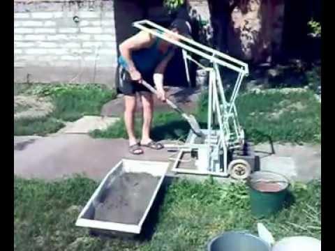 Станок для производства шлакоблока Казахстан - YouTube