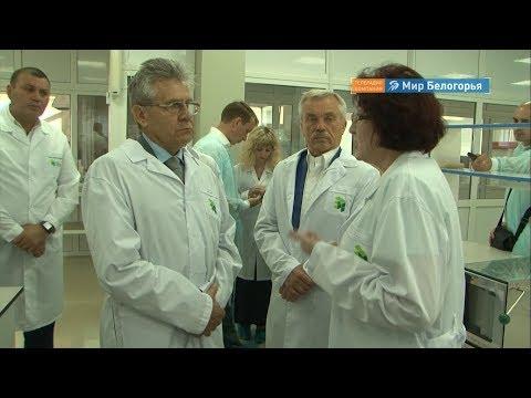 Президент Российской академии наук в  Белгороде