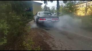 440 Dodge Monaco burnout