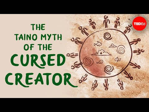 Video image: The Taino myth of the cursed creator - Bill Keegan