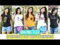 DIY Graphic Tees\T-shirts In 5 Different Ways | Techniques | Easy DIY At Home