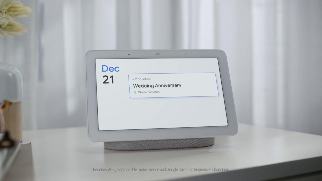 Google Home Hub Calendar Youtube