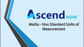 Maths - Non Standard Units of Measurement