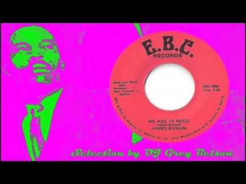 Gospel Deep Soul 45 - James Bynum - 'We are in need'